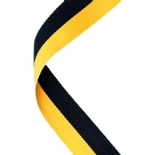 BLACK/YELLOW RIBBON TWO COLOUR